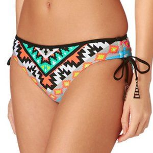 NWOT Seafolly Aztec Tie Side Hipster